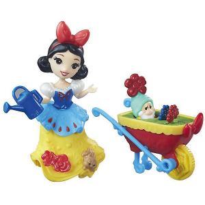 Игровой набор с мини-куклой Disney Princess Маленькое королевство Белоснежка Hasbro