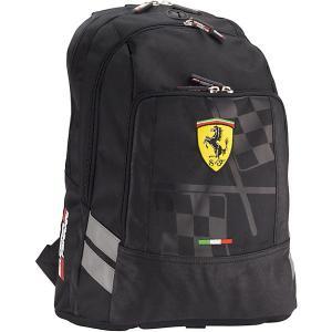 Рюкзак Академия Групп Ferrari, черный. Цвет: черный