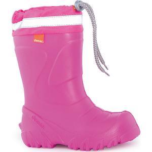 Резиновые сапоги  Mammut-S для девочки DEMAR. Цвет: розовый