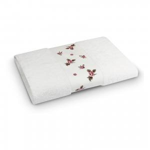 Полотенце махровое 70*140 Розали, , белый Cozy Home
