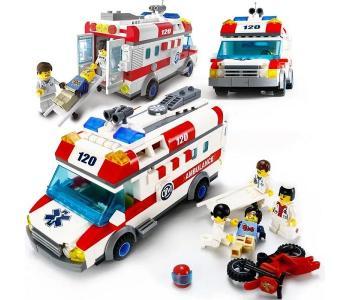 Машина скорой помощи (328 деталей) Enlighten Brick