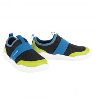 Кроссовки  Swiftwater Easy-on Shoe K Blk/Ocn, цвет: черный Crocs