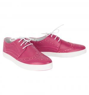 Кеды , цвет: розовый Elegami
