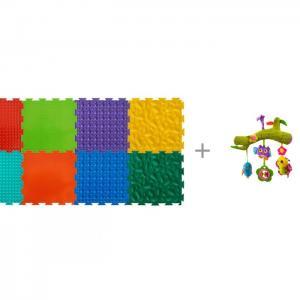 Игровой коврик  модульный Набор №2 Малыш и Подвесная игрушка Forest В лесу PI0031 ОртоДон