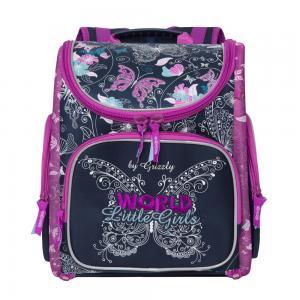 Рюкзак , цвет: синий Grizzly