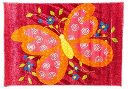 Ковер Bambino  с рисунком бабочка, размер 117x170 Sai Carpets