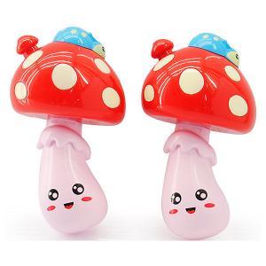 Набор музыкальных игрушек  Маракасы-мухоморчики Bebelot. Цвет: разноцветный