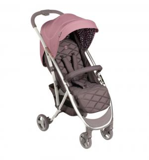Прогулочная коляска  Eleganza V2, цвет: розовый Happy Baby