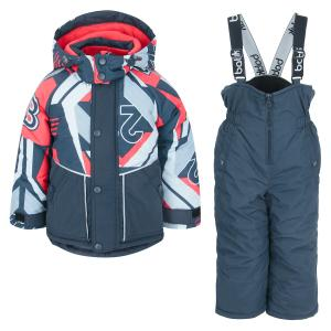Комплект куртка/полукомбинезон  Лукас, цвет: синий Batik