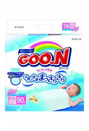 Подгузники  NB (до 5 кг) 90 шт. Goon