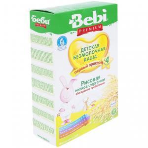 Каша  безмолочная Рисовая с 4 месяцев 200 г Bebi