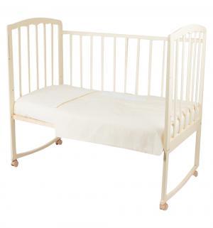 Комплект постельного белья  Мишка в облаках, цвет: белый Leader Kids