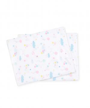 Простыни натяжные  Конфетти, 2 шт. в упаковке, цвет: белый Mothercare