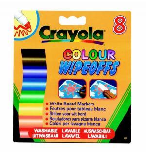 Фломастеры  8 Цветов радуги для доски Crayola