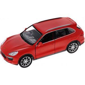 Металлическая машинка  Porsche Cayenne Turbo 1:32, красный матовый RMZ City