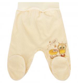 Ползунки  Мой малыш, цвет: желтый Три медведя