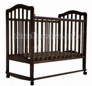Детская кроватка  6 без ящика качалка Лаура