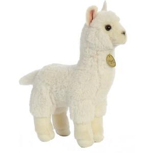 Мягкая игрушка Aurora Альпака, 30 см. Цвет: разноцветный