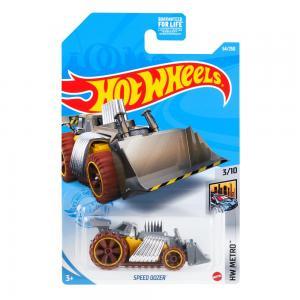 Автомобиль  Серия базовых моделей Speed Dozer 7 см Hot Wheels