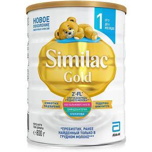 Молочная смесь  Gold 1, с 0 мес, 800 г Similac
