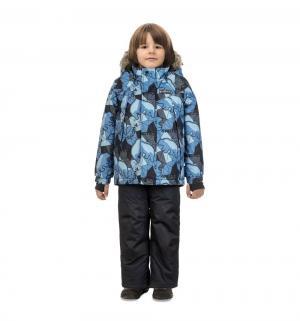 Комплект куртка/брюки  Кермодский медведь, цвет: серый/синий Premont