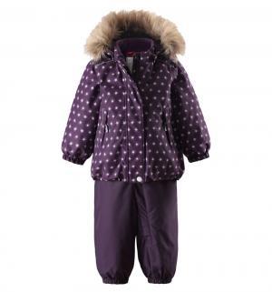 Комплект куртка/брюки  Tec Pihlaja, цвет: фиолетовый Reima