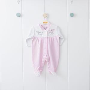 Комбинезон , цвет: розовый/белый Kidaxi
