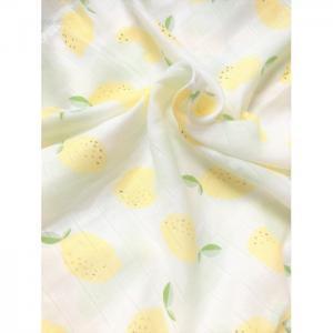 Пеленка  муслин Лимоны 115х115 см Little me