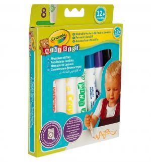 Фломастеры  Mini Kids смываемые 8 шт. Crayola