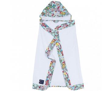 Полотенце с капюшоном Unikiki Bebe au Lait