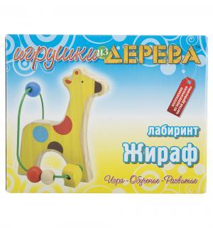 Деревянная игрушка  Лабиринт Жираф Мир Деревянных Игрушек