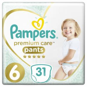 Подгузники-трусики Premium Care Extra Large р.6 (15+ кг) 31 шт. Pampers