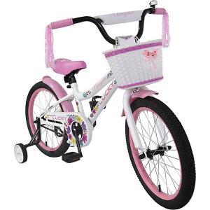 Двухколёсный велосипед  Lucky, 18 Navigator. Цвет: белый