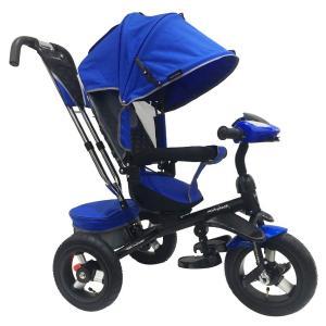 Трехколесный велосипед  Comfort 360° 12x10 AIR, цвет: синий Moby Kids
