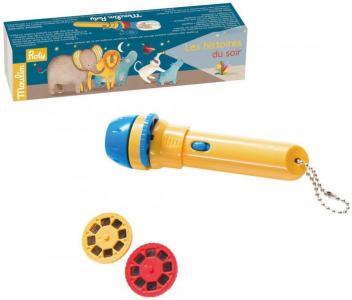Развивающая игрушка  Фонарик - проектор с историями Moulin Roty