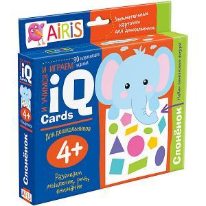 Набор занимательных карточек для дошколят Слонёнок АЙРИС-пресс