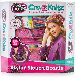 Набор для вязания Стильная Шапка -колпак Cra-z-knitz