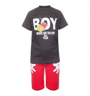 Комплект футболка/шорты , цвет: черный M&D