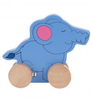 Каталка  Слон 14.5 см Мир Деревянных Игрушек