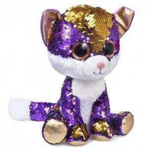 Мягкая игрушка  глазастик Котёнок Аметист Fancy
