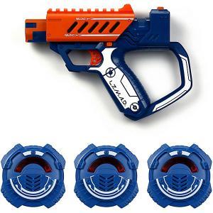 Игровой набор  Тренировочный бластер с мишенью, оранжевый Silverlit