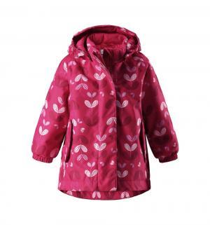 Куртка  Tec Ohra, цвет: розовый Reima