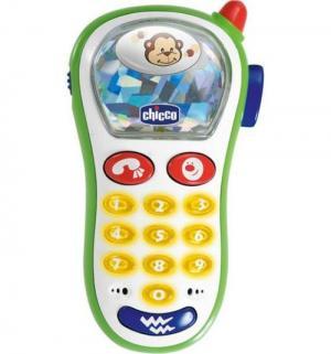 Развивающая игрушка  Музыкальный телефон с фотокамерой 13.5 см Chicco
