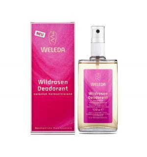 Дезодорант-спрей  розовый, 100 мл Weleda