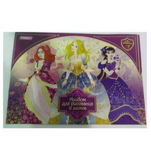 Альбом для рисования А4  Волшебные принцессы Proff