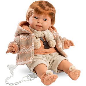 Кукла  Кристиан, 42 см со звуком Llorens