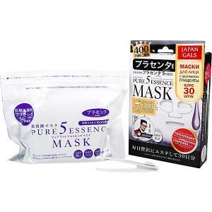 Маска  Pure5 Essence с плацентой, 30 шт Japan Gals