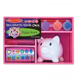 Набор для творчества  Создай свою собственную копилку-свинку Melissa&Doug