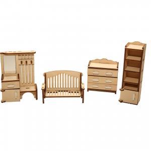 Деревянный набор мебели ХэппиДом Прихожая Happykon
