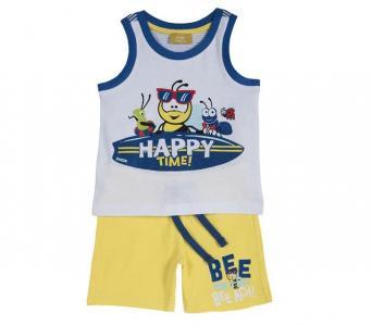 Комплект для мальчиков майка и шорты Пчела  09076291 Chicco